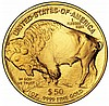 One Ounce 2009 Gold Buffalo Coin Uncirculated - L18117