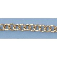 Pure Gold 7 14ktItalian Gold-Yellow or White Rd Links with Shiny Heart Bracelet:8gr - L11350