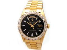36mm Gents Rolex 18k Yellow Gold Daydate Watch - L29674