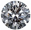 Round 0.50 Carat Brilliant Diamond E VVS2 - L24405