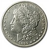 1899 Morgan Dollar - Almost Uncirculated Details - Cleaned - L31705