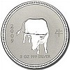2009 2 oz Silver Lunar Year of the Ox (Series I) - Key Date! - L25091