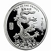 1 oz Year of the Dragon Silver Round .999 Fine - L24215