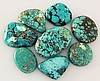 Natural Turquoise 201.90ctw Loose Small Gemstone Lot of 8 - L21353
