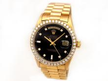 Gents Rolex 18K Yellow Gold Oyster Perpetual Daydate - L29691