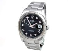 34mm Gents Rolex Stainless Steel Date Watch. - L29675