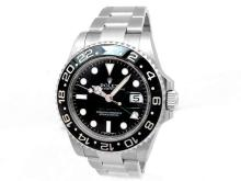 Gents Rolex Stainless Steel GMT-Master II Watch - L29706