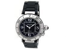 40.5mm Gents Cartier Pasha Sea Timer Watch - L29655