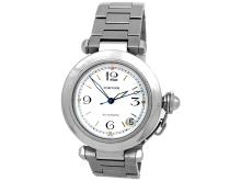 35mm Midsize Cartier Stainless Steel Pasha Watch - L29701