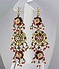 17.14GRAM INDIAN HANDMADE LAKH FASHION EARRING - L19379