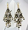 9.93GRAM INDIAN HANDMADE LAKH FASHION EARRING - L19384