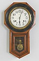 Seiko 8 day Victorian walnut wall clock