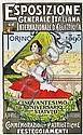 Poster: Esposizione Generale Italiana Torino