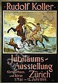 Poster: Rudolf Koller - Jubiläumsausstellung