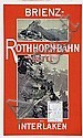 Poster: Brienz-Rothorn-Bahn