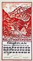 Poster: Ragaz - Wartenstein
