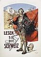 Poster: Lesen Sie die Schweiz