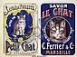 Poster: Savon - Le Petit Chat