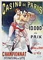 Poster: Championnat de Lutte