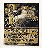 Poster: Kunstaustellung München