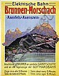 Poster: Elektische Bahn Brunnen-Morschach