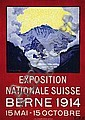 Poster: Exposition Suisse - Berne