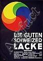 Poster: Schweizer Lacke