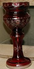 Small Red Turkey Crystal Center Piece