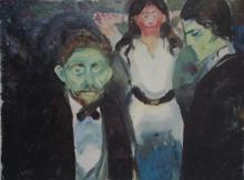 Print after Edvard Munch