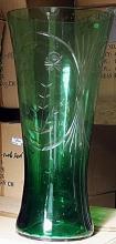 Gorgeous Green Turkey Crystal Vase