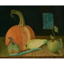 John Henry Wilde, (American, 1919-2006), Still Life, oil on masonite, 8
