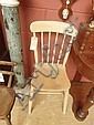Beech kitchen chair