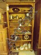 A C20 pine bookcase