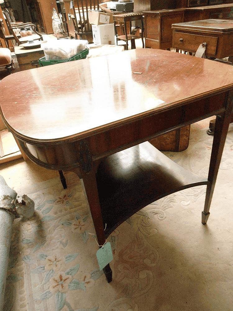 An early 20th Century table