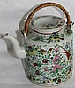 LATE 19TH C. ORIENTAL PORCELAIN TEAPOT