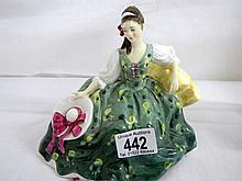 Royal Doulton 'Elyse' figurine, HN2474 (approx. 5 3/4'' / 14.75cm)