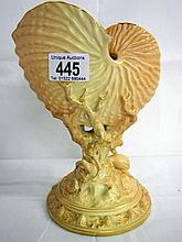 Royal Worcester shell vase (approx. height 8'' / 20.5cm)