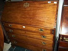 Mahogany bureau