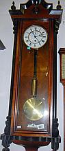 Single-weight Vienna wall clock (approx. height 46'' / 117cm)