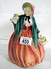 Royal Doulton figure of 'Lady Charmain' (approx. height 8 1/4'' / 21cm)