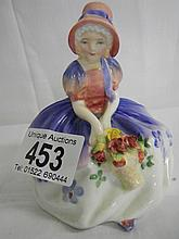 Royal Doulton figure of' 'Monica' HN1467 (approx. height 4 1/4'' / 10.75cm)