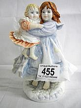 Royal Worcester figure of 'Love' ltd. ed. 3,196 of 9,500 (approx. height 7 1/4'' / 18.5cm)