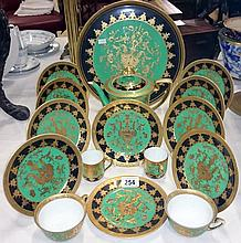 A Noritake tea set and tray