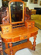 Arts & Crafts-style dressing table