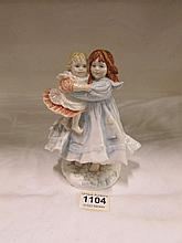 A Royal Worcester limited edition figurine 'Love'