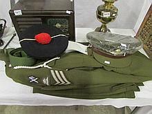 A military dress uniform