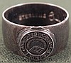 VINT STERLING CLASS RING FROM LAKE FOREST COLLEGE IN IL