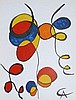 BALLONS ET CERFS VOLANTS LITHOGRAPH by Calder