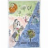 Mourlot Lithograph 1974 The Four Seasons Marc Chagall