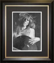 Original Graphite on Paper by GGray -Mariah Carey